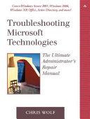 Troubleshooting Microsoft Technologies