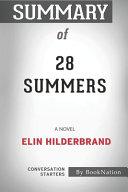 Summary of 28 Summers