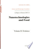 Nanotechnologies and Food