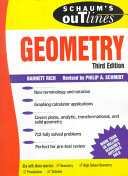 Cover of Schaum's Outline of Theory and Problems of Geometry
