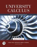 University Calculus