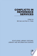 Conflicts In Reference Services