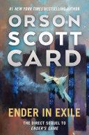 Ender in Exile Book