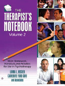 The Therapist's Notebook, Volume 2 Pdf/ePub eBook