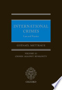 International Crimes  Law and Practice Book PDF
