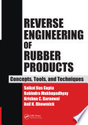 Reverse Engineering of Rubber Products Book