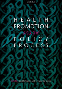 Health Promotion and the Policy Process