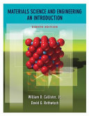 Materials Science and Engineering  An Introduction  8th Edition