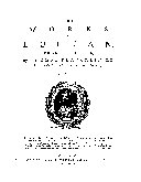 Pdf The Works of Lucian