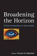 Broadening the Horizon Book