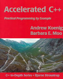 Accelerated C++: Practical Programming by Example - Seite ii