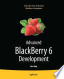 Advanced BlackBerry 6 Development