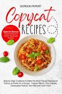 Copycat Recipes Pdf/ePub eBook