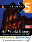 5 Steps to a 5  AP World History 2018  Edition