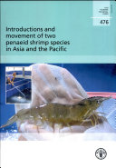 Pdf Introductions and Movement of Two Penaeid Shrimp Species in Asia and the Pacific