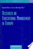 Research on Educational Management in Europe