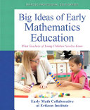 Big Ideas of Early Mathematics Pdf/ePub eBook
