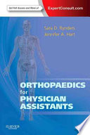 Orthopaedics for Physician Assistants Book