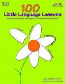 Pdf 100 Little Language Lessons