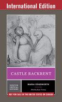 Castle Rackrent  International Student Edition   Norton Critical Editions