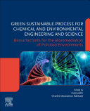 Green Sustainable Process For Chemical And Environmental Engineering And Science Book PDF