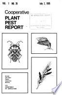 Cooperative Plant Pest Report