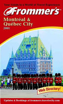 Pdf Frommer's Montreal & Quebec City 2001
