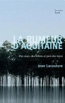 La rumeur d'Aquitaine