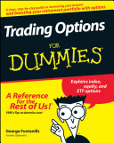 Cover of Trading Options For Dummies