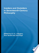 Insiders and Outsiders in Seventeenth-Century Philosophy