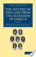 The History Of England From The Accession Of James Ii Book PDF