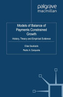 Models of Balance of Payments Constrained Growth Pdf