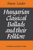 Hungarian Classical Ballads ebook