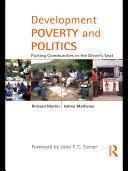 Development Poverty and Politics ebook