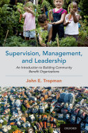 Supervision  Management  and Leadership