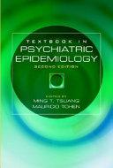Textbook in Psychiatric Epidemiology