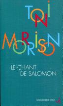 Le Chant de Salomon ebook