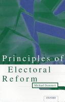 Principles of Electoral Reform