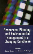 Resources  Planning and Environmental Management in a Changing Caribbean
