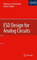 ESD Design for Analog Circuits Book