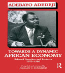 Pdf Towards a Dynamic African Economy Telecharger