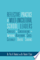 Reflective Practice Of Multi Unicultural School Leaders