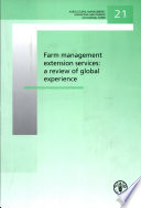 Farm management extension services  a review of global experience Book
