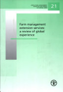 Pdf Farm management extension services: a review of global experience