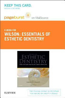 Principles and Practice of Esthetic Dentistry Pageburst E book on Vitalsource Book