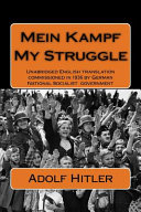 Mein Kampf My Struggle