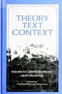 Theory  Text  Context
