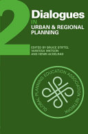 Dialogues In Urban And Regional Planning