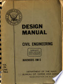 Design Manual, Civil Engineering