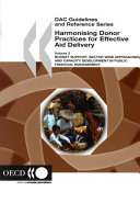 DAC Guidelines and Reference Series Harmonising Donor Practices for Effective Aid Delivery, Volume 2 Budget Support, Sector Wide Approaches and Capacity Development in Public Financial Management